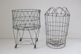 Utilitarian Wire Baskets