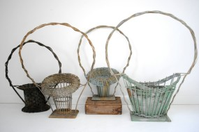 Victorian Funeral Baskets