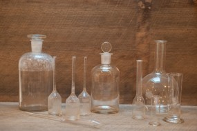 Assorted Pharmaceutical Glass