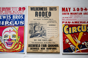 Circus & Rodeo Posters