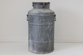 Metal Milk Can