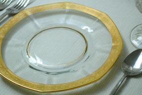 Gold Rimmed Plates
