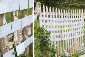 Weathered Pickett Fencing