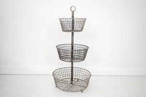 Three Tier Wire Basket