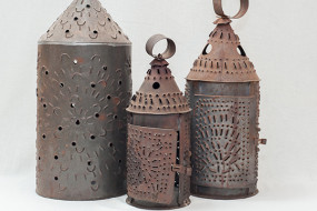 Tin Candle Lanterns