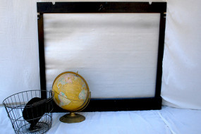 Old Kodak Projector Screen