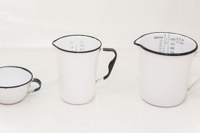 Enamelware Measuring Cups
