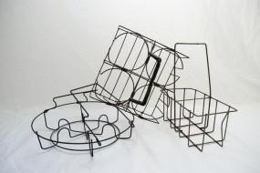 Metal Wire Vintage Baskets