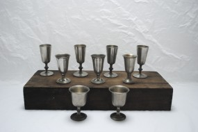 Pewter Aperitif Glasses