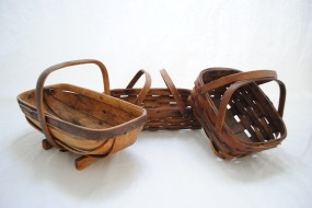 Antique Handmade Baskets 1