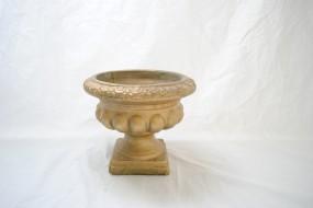Gold Pedestal Urn
